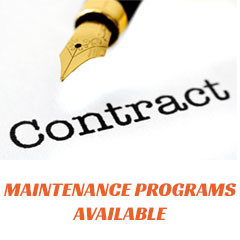 Maintenance Programs Available